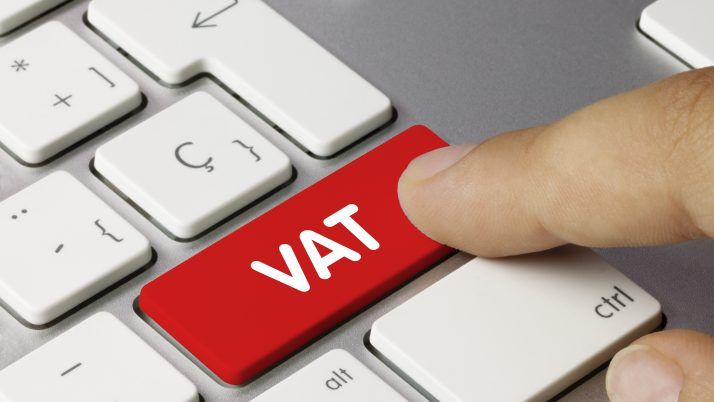 When are registered businesses required to file VAT returns?